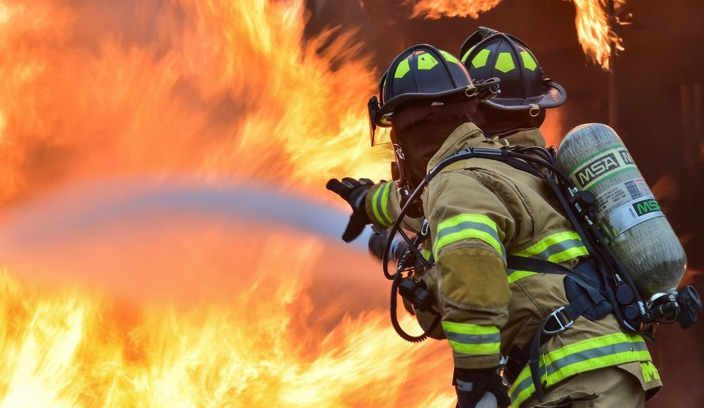 Firefighters   Grace under pressure. The definition of courage.    Greater love hath no man than this, that a man lay down his life for his friends. Firefighters gear up and walk into the fury of fire, setting fear aside to save the lives of others. We THANK YOU for your bravery .