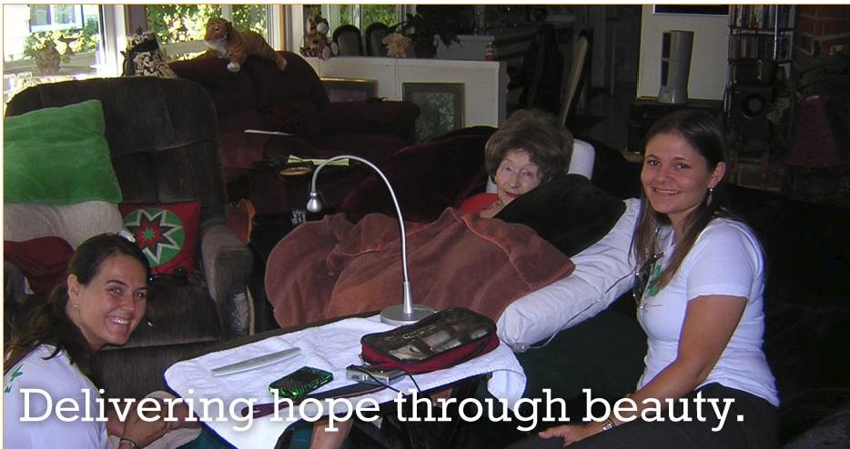 Stella Croxon Home Loans San Fernando Valley Mom with Beauty Bus.jpg
