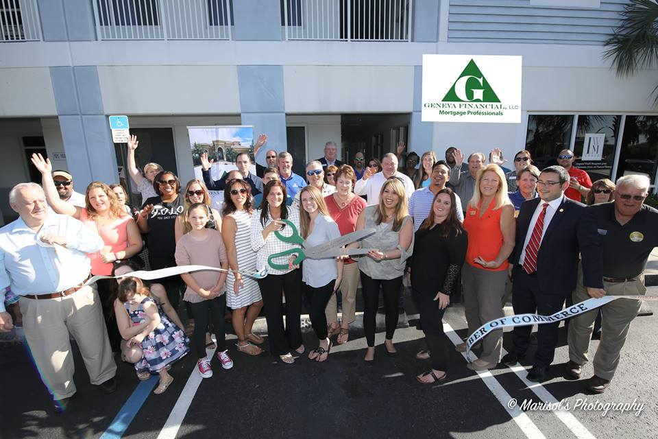 Ribbon Cutting at our new Offices!