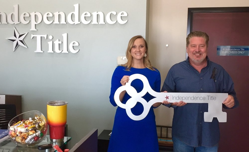 Alexander B closing on her new home, Geneva Financial, LLC finds her way home and Independence Title does all the paperwork.