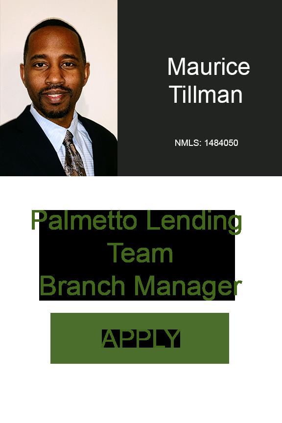 Maurice Tillman Branch Manager Palmetto Lending Team South Carolina Geneva Financial .png