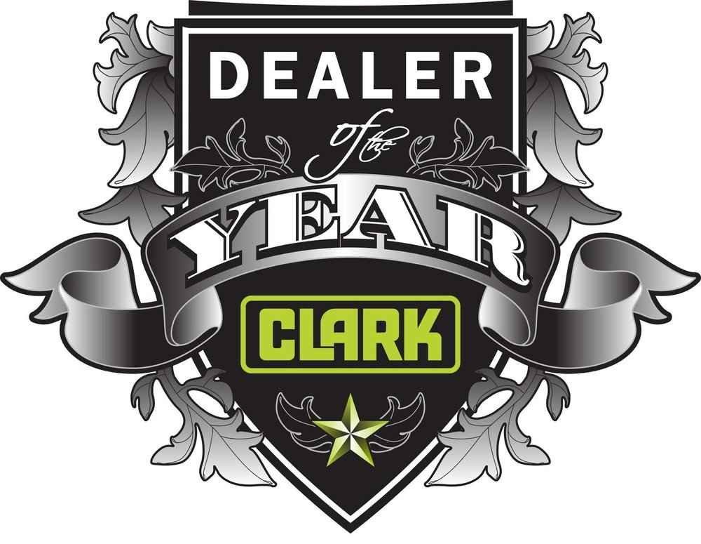 2015 Clark Dealer of the Year. Clark Forklifts Minnesota and North Dakota.
