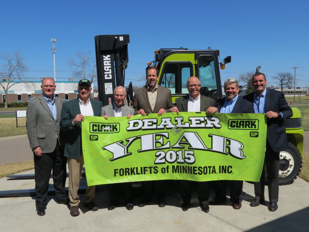 Forklifts Of Minnesota, Inc. - Clark Dealer of the Year