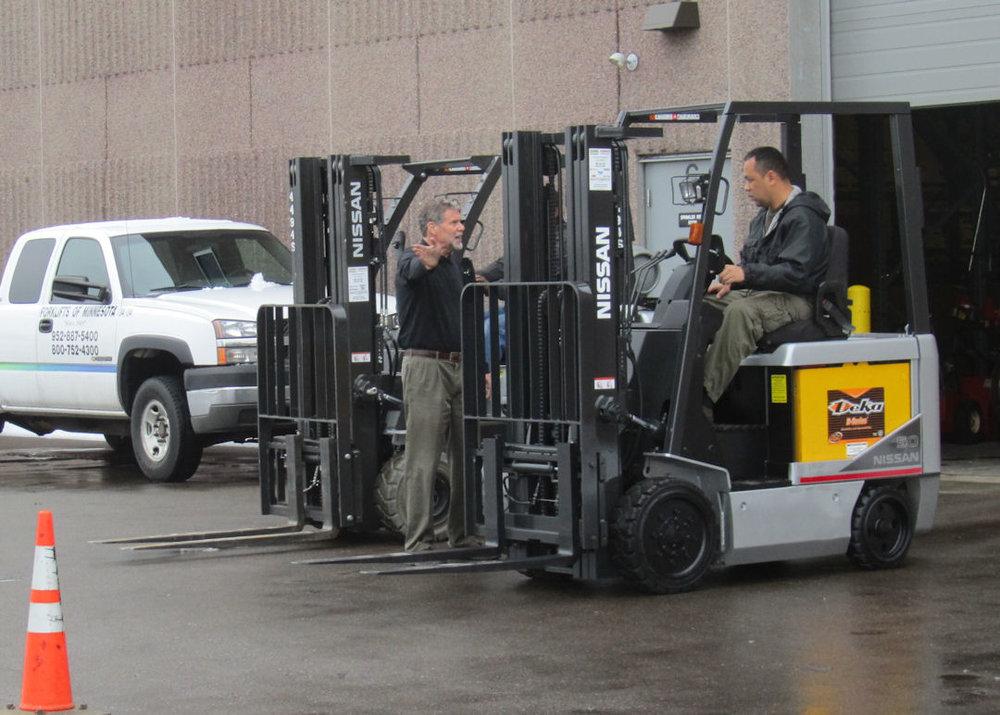 Forklifts Of Minnesota Inc Operator Training Classes