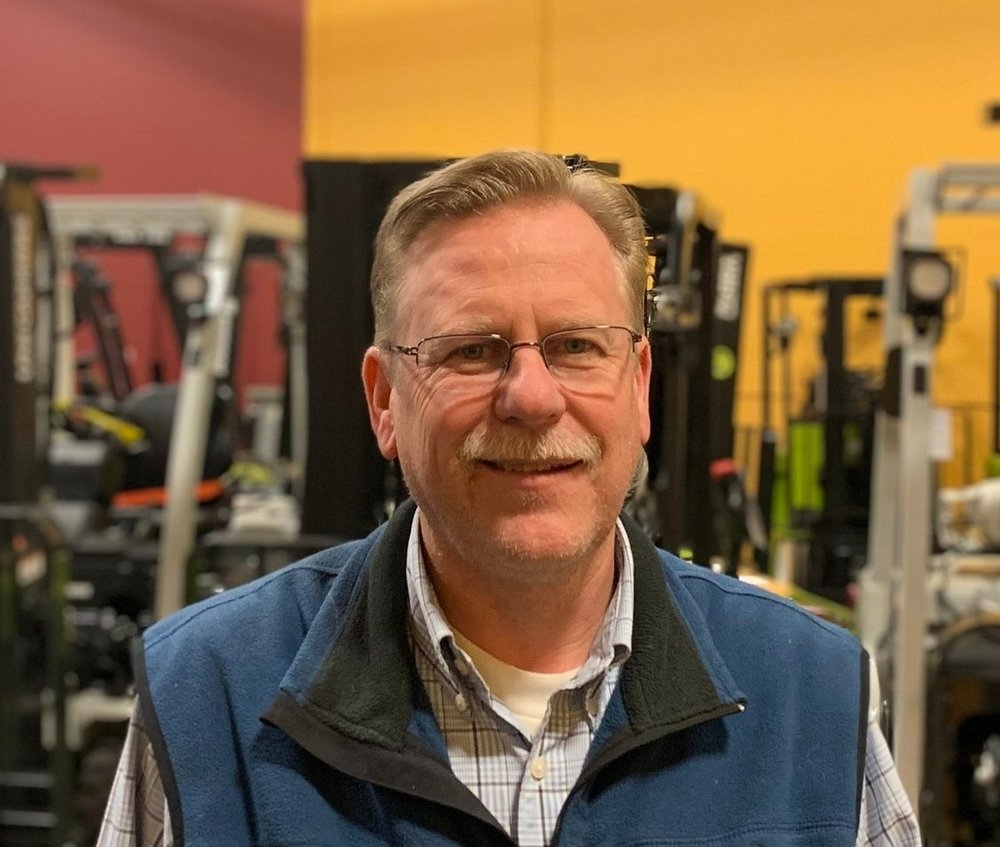 Jim Zeece - - FOM Since: 1992Phone number:952-887-5434Email address:jzeece@forkliftsofmn.com