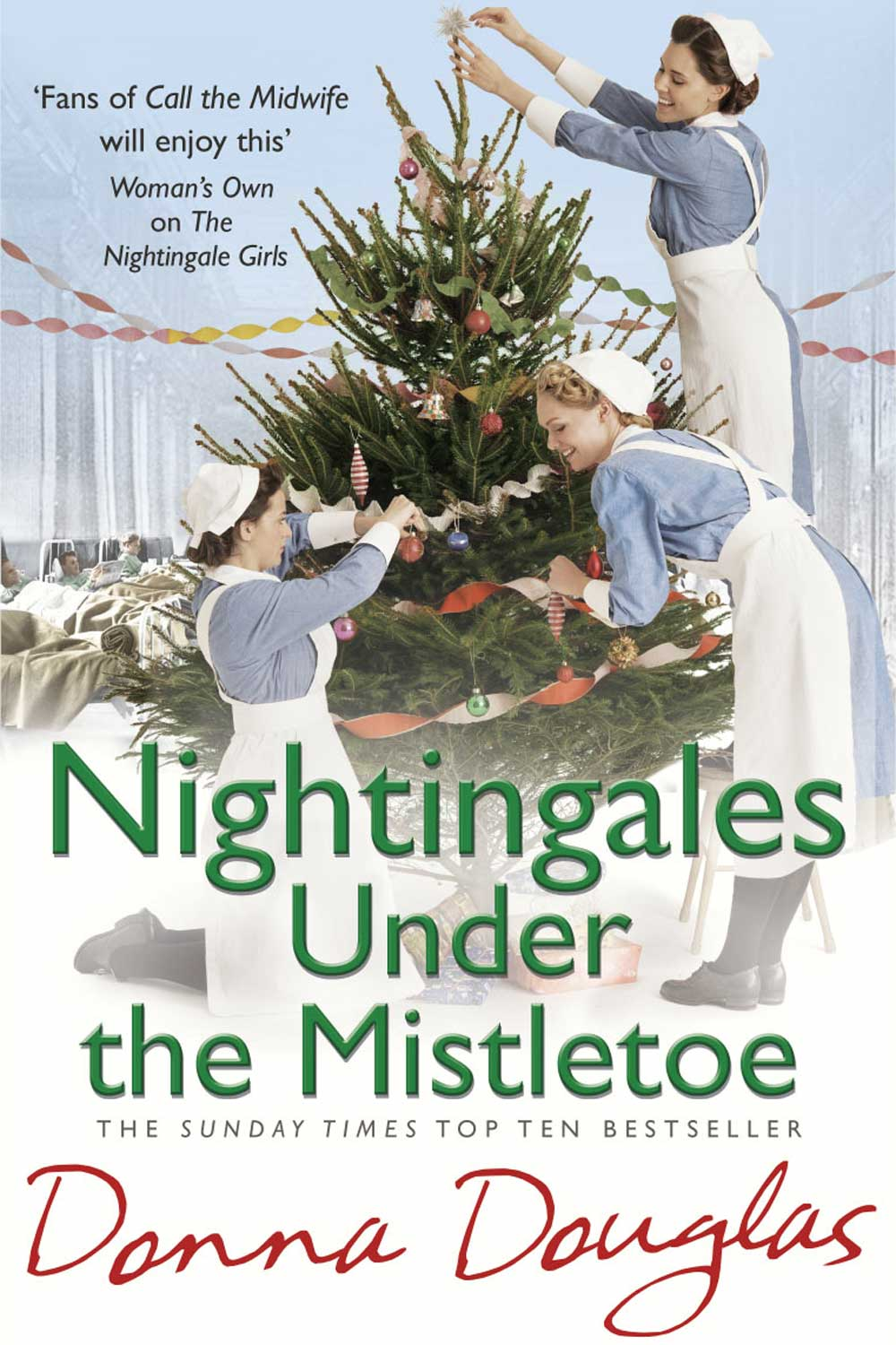 Nightingales-Under-The-Mistletoe-Donna-Douglas