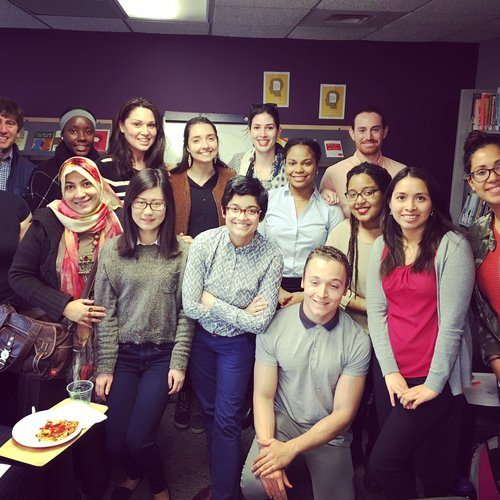 Teaching my Entry-Level Hollywood workshop at American University (May 2016)