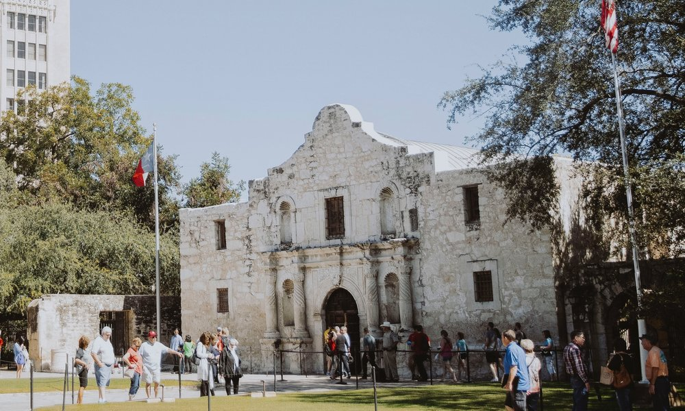 WHAT'S HAPPENING TO THE ALAMO? -