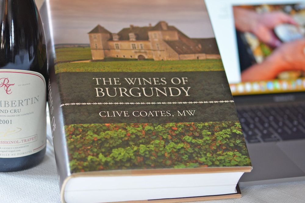 An ever expanding wine and history book selection -