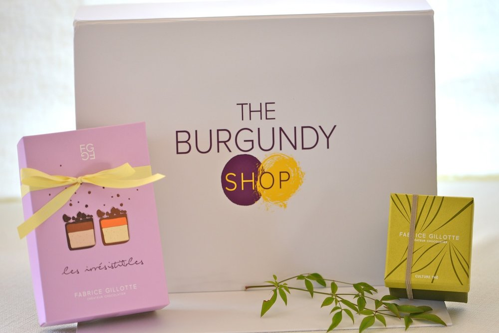 Burgundy Boxes - a selection of delicacies from Burgundy -