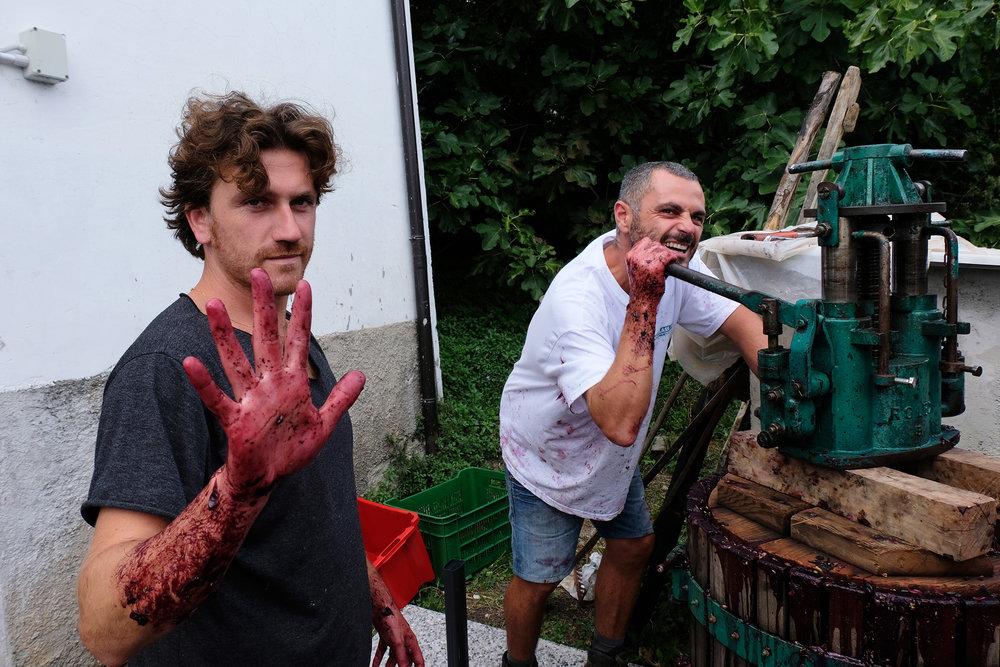 Lammidia_3_Davide Gentile e Marco Giuliani (al torchio).jpg