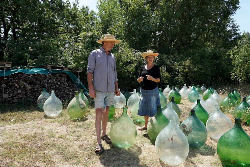 Les vignerons du Luberon qui font du vin sans cave -