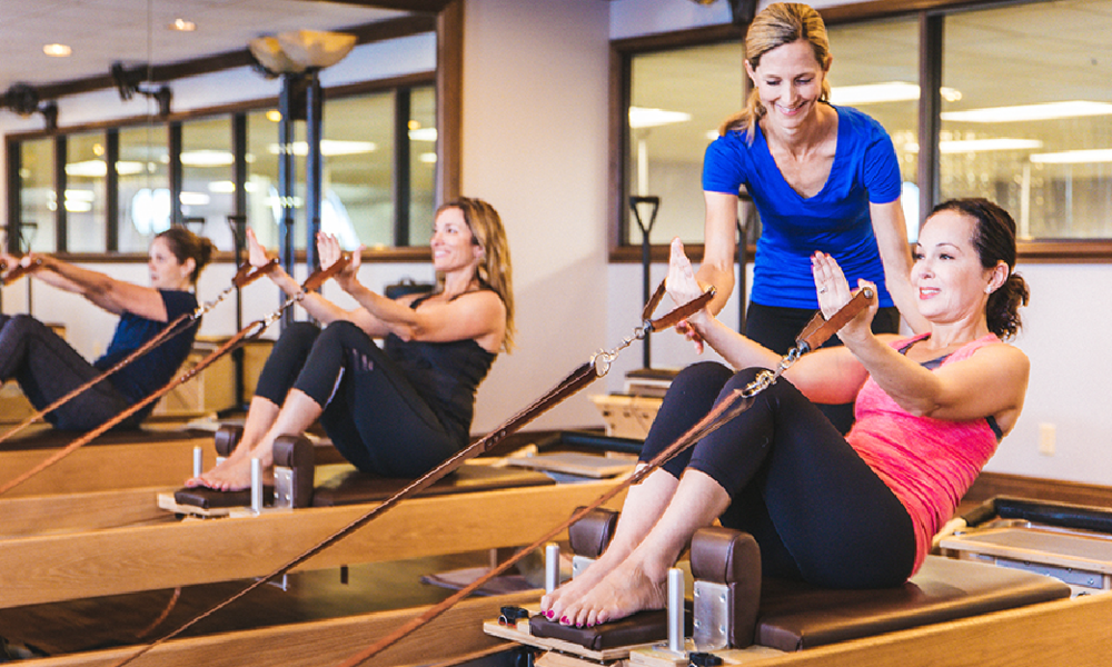 REFORMER PILATES   Learn More +