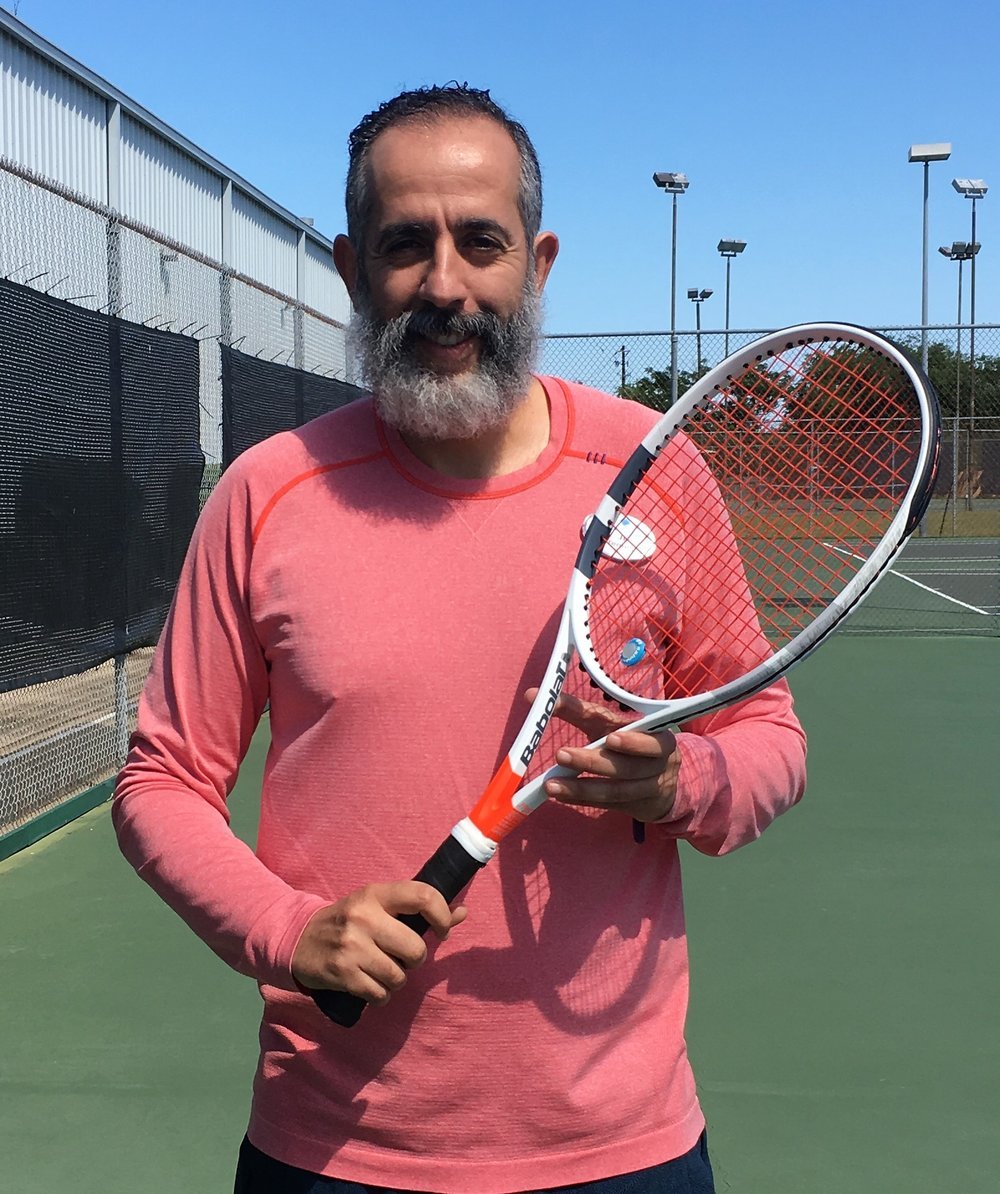 Jihad BenbarkaDirector of Jr. Development - CERTIFICATIONS:• USTA High Performance Coach• USTA Nationally Ranked 26• PTR Professional Level 4A• Etcheberry Certified: Strength, Conditioning, & Movement in Sport• International Tennis Federation for Play & Stay Tennis Program• International Olympic Committee: Technical Coaching Course UAEI work with junior players and helped them move from Challengers to Champs then to Supers. In the Summer 2017 I was selected to be the USTA Texas Team Under 14 Boys and Girls Zonal Coach, placing 2nd in the Zonal National Tournament. I was also selected among 20 coaches nationwide for the USTA High Performance Coaching Education Program. I have previously coached in Seattle, Morocco, and Dubai, where I was the Head Coach for the UAE National Team Under 18. I have worked with ATP players ranked from 1000 to 500, as well as ranked ITF boys and girls juniors from 700 to 200. I started playing tennis at the age of 10 on clay courts in my hometown of Kenitra, Morocco. I have played competitive tennis and won open and national team club tournaments. I am currently USTA Level 5.0 and ranked #4 in Texas age 35 and over. I always work with heart and passion. I teach, coach and train players to develop the fundamentals skills that enable them to perform their best to complete a game.