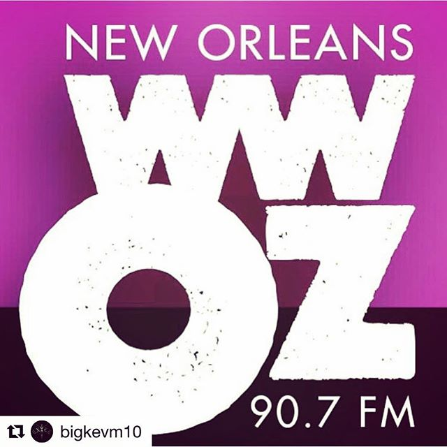 "@slim_wednesday is about to go on the air with @wwoz_neworleans ! Tune in to 90.7FM and hear them talk about the new record, ""Reptile Show"", and hear some cuts of the album! #slimwednesday #wwoz_neworleans #radio #reptileshow #hotoffthepress🔥🔥"