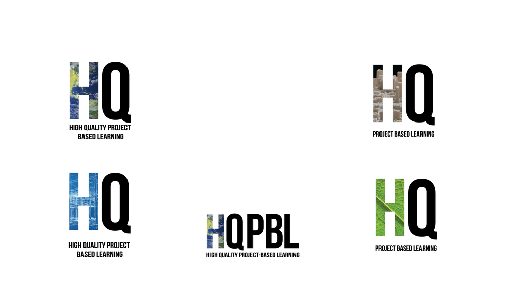 Inspired by the previous concept, these logos use photography in the H instead of vector patterns. It is equally fun and exciting, just in a different way.
