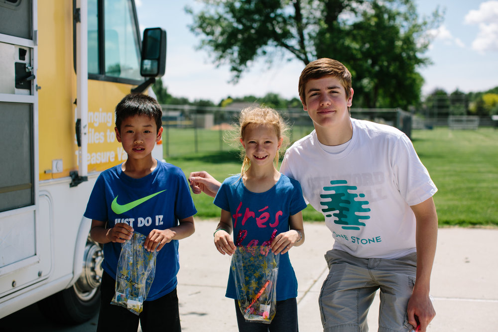 """Project Good students partnered with Miles of Smiles to create """"Molar Bearz,"""" to promote dental hygiene in fun and engaging ways."""