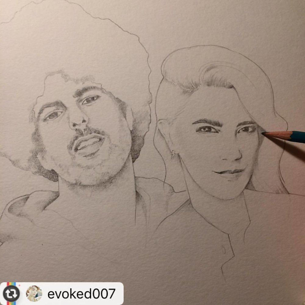 #Reposting dopeness from @evoked007 !!!! 😍– #killyouridol #freelance #miami #art @afrobeta