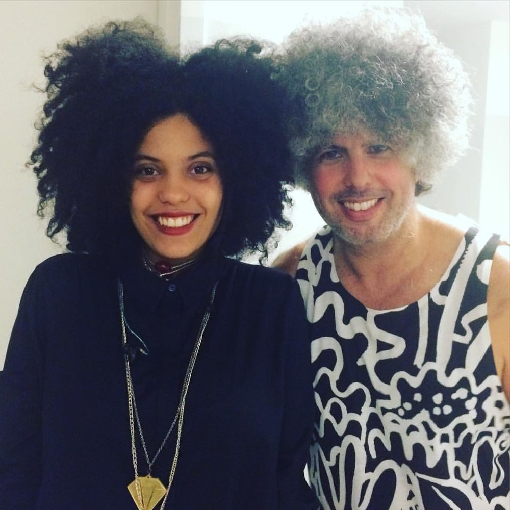 Hermanitos Del Afro ;) que placer de estar con uds en #miami @northbeachbandshell #besos @ibeyi2 #legend  (at North Beach Bandshell)
