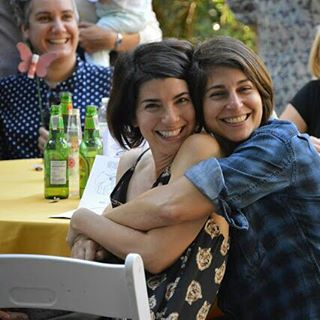 Smile if u are grateful to have friends & love in life! Cultivating friendship over 20 + years is an collaborative art form. #art #livinginstallation #artbasel #goals #friends  (at The Lunchbox)
