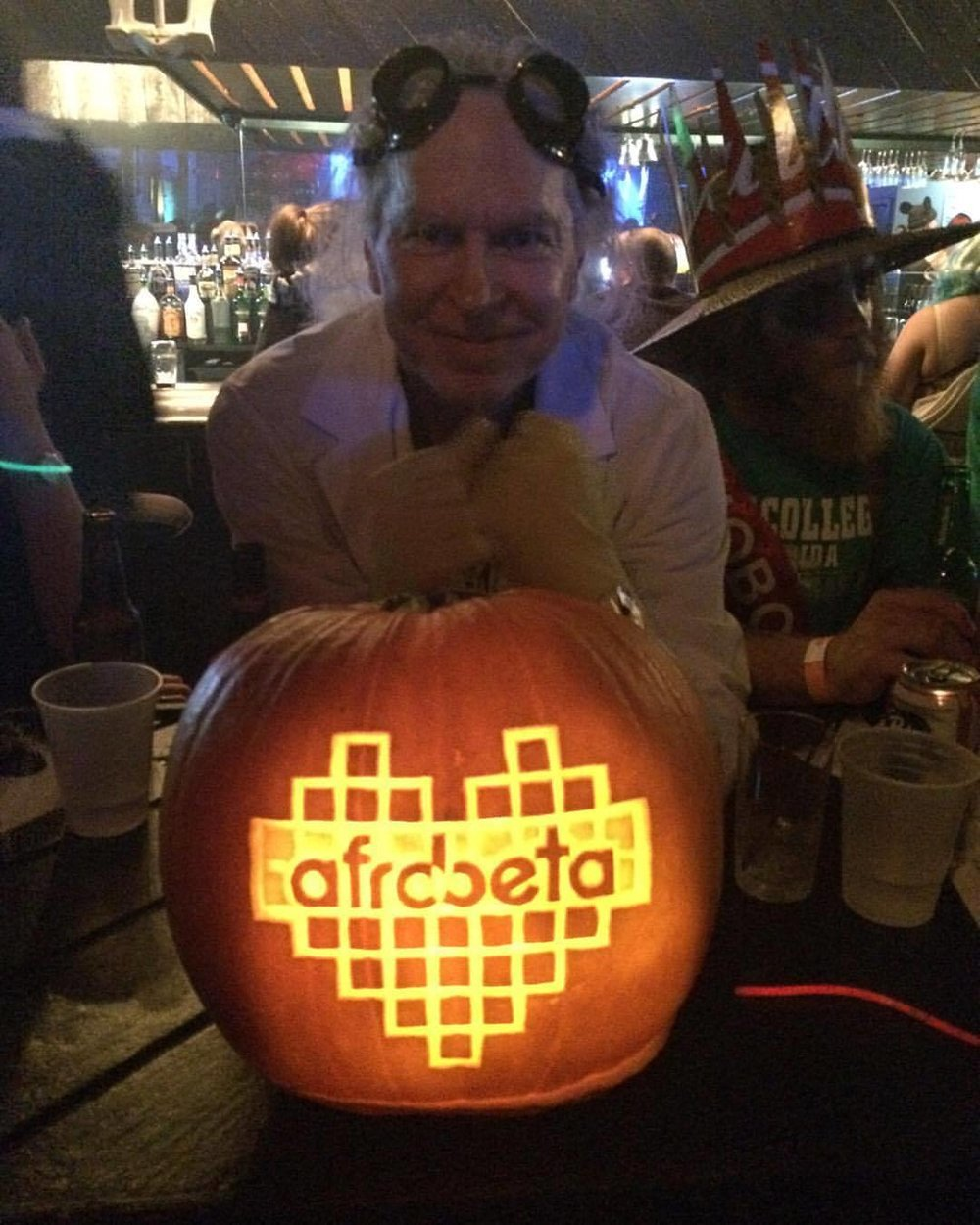 This amazing wizard brought this magikal pumpkin to the show!!! #trickorbeats #happyhalloween #1fan  (at The Dock)