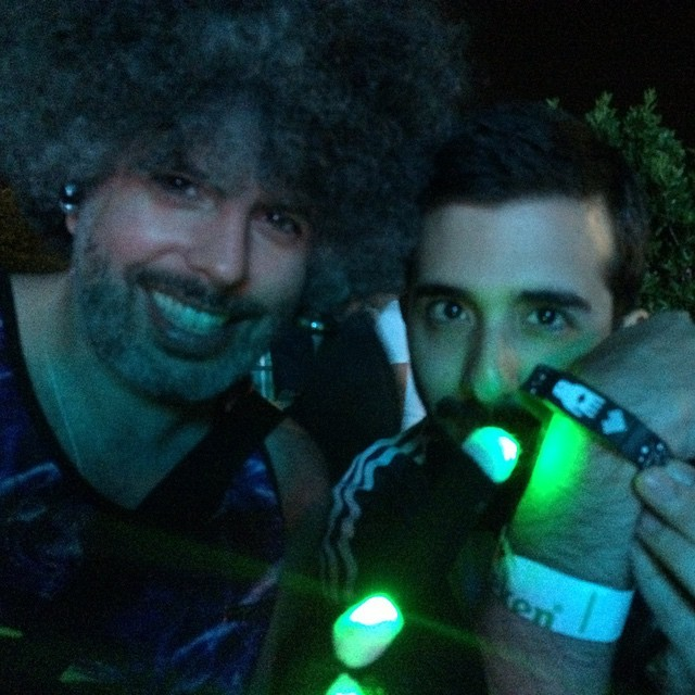Gifting our new tunez to the fun fans @ultra @peopleofultra @afrobeta #mmw2015  (at Ultra Music Festival)