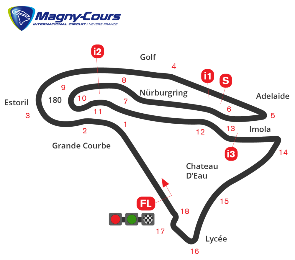 Frankrijk, 2005, 2019 - Magny Cours - not recorded, NNB