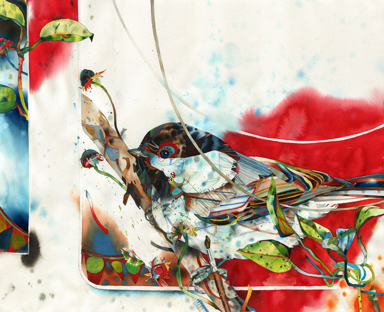 """Chirp222 Davos 27x33"""""""