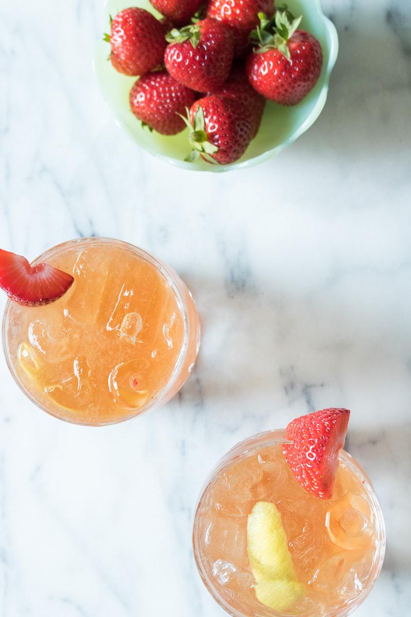 Fraisé Fizz Cocktail | A Dash of This 004