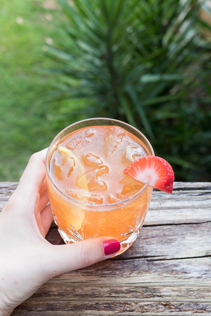 Fraisé Fizz Cocktail | A Dash of This 005