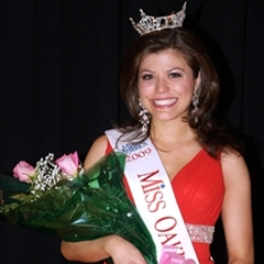 Angela Vendetti Miss Oakland County 2009 Top 10, Miss Michigan 2010