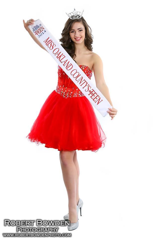 Miss Oakland County's Outstanding Teen 2014 Kristen Penrose