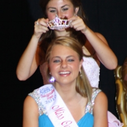 Morgan Stocker Miss Oakland County's Outstanding Teen 2010 4th Runner Up, Miss Michigan's Outstanding Teen 2011