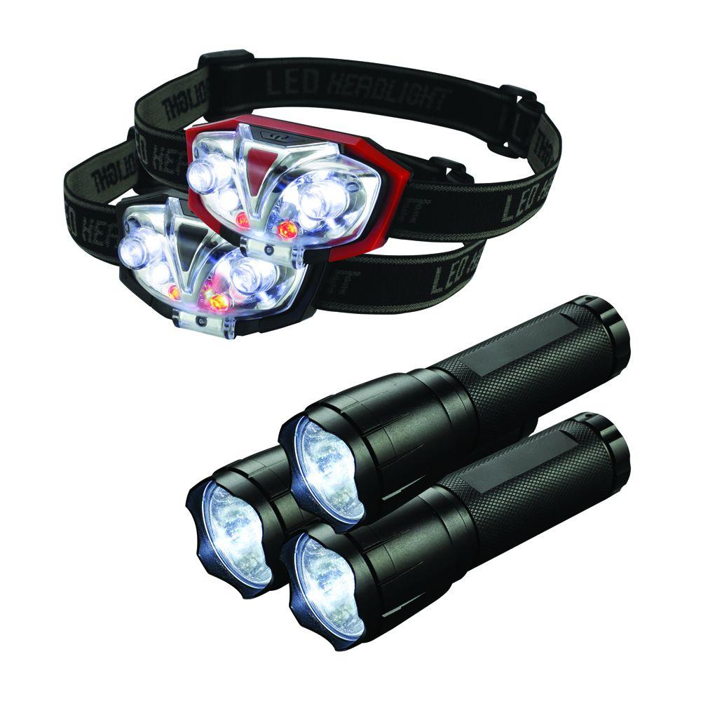 No kit is complete without flashlights and headlamps.