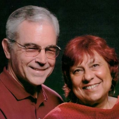 Sandi Genser-Maack and her husband, Lynn Maack.