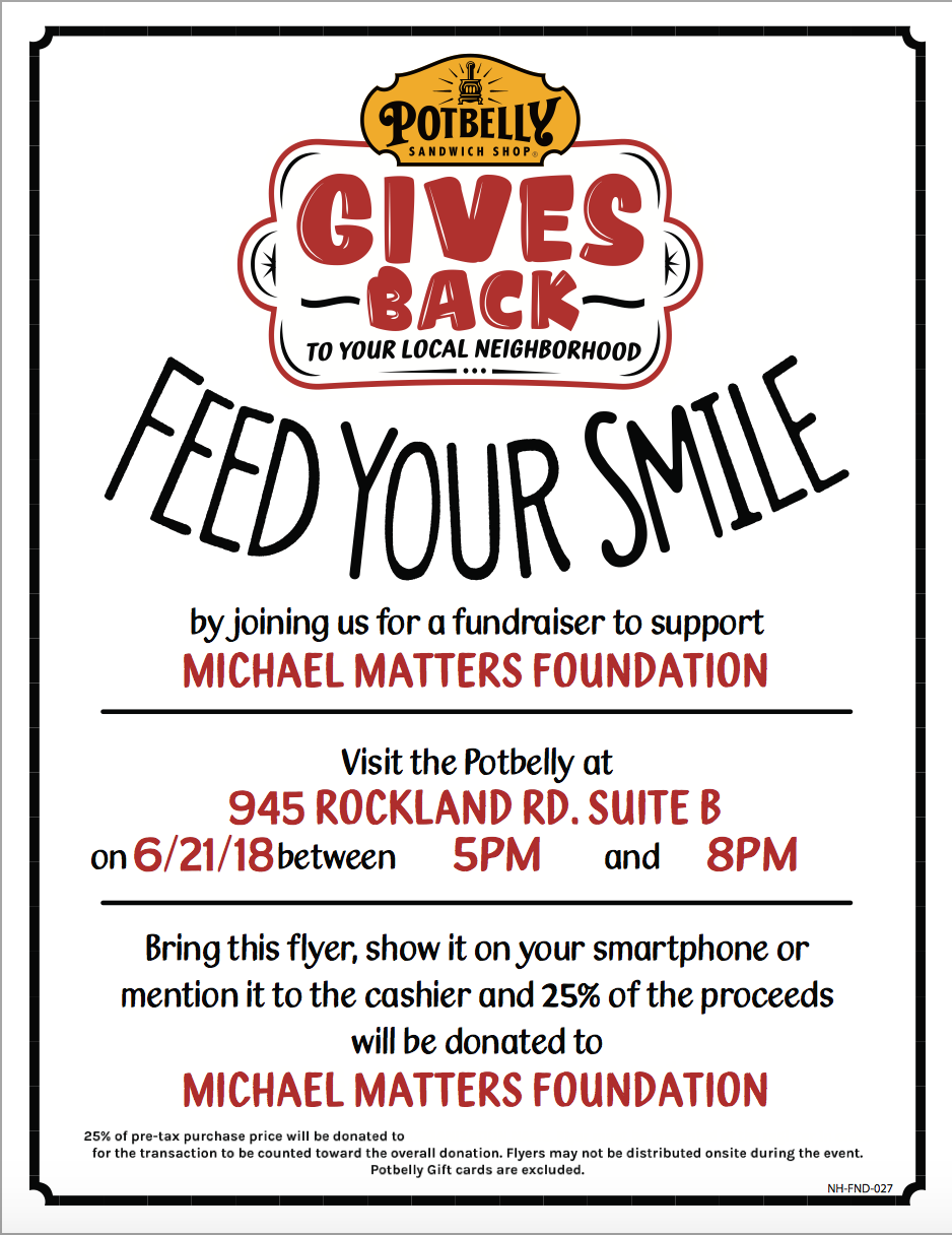 Show this flyer at the counter when you purchase your meal!