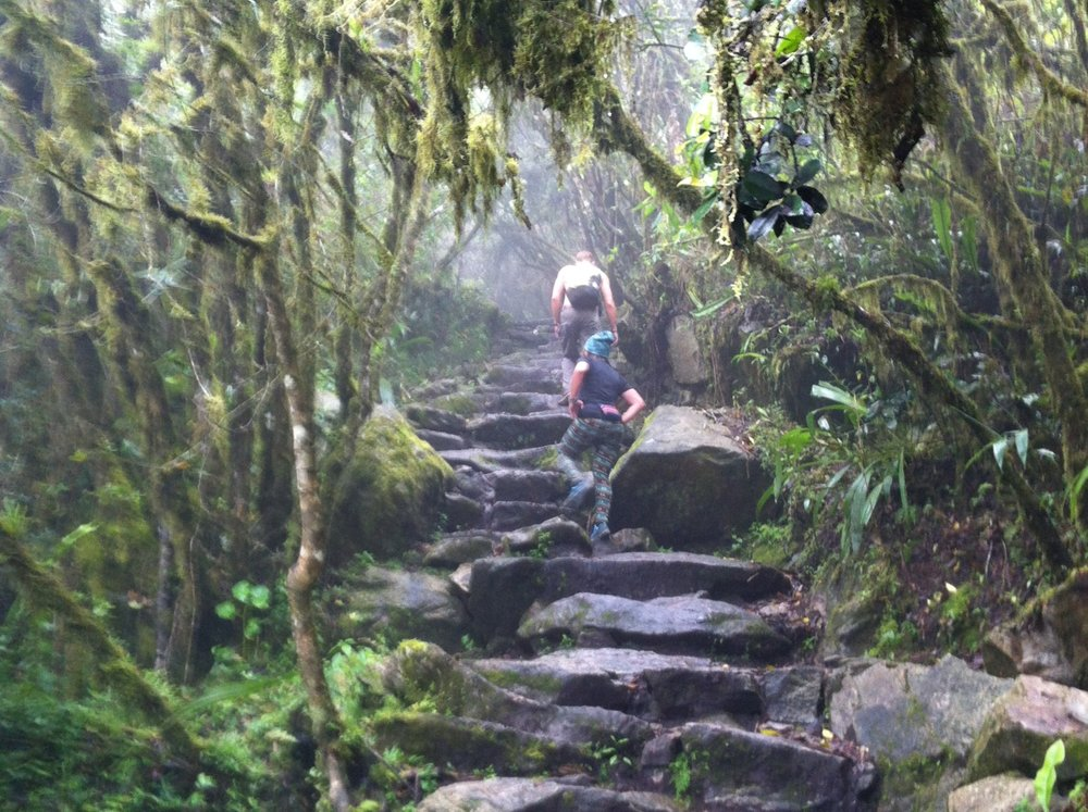 paths to pachamama uphill climb