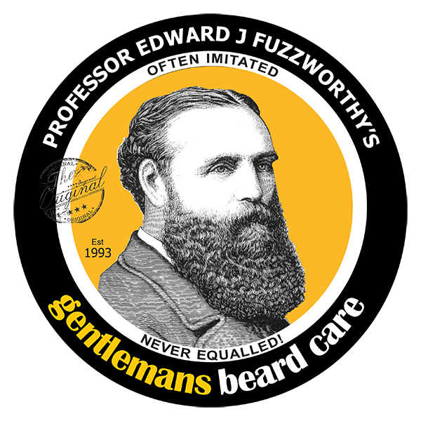 Professor Fuzzworthy Beard Care & Grooming | 100% All Natural Since 1993