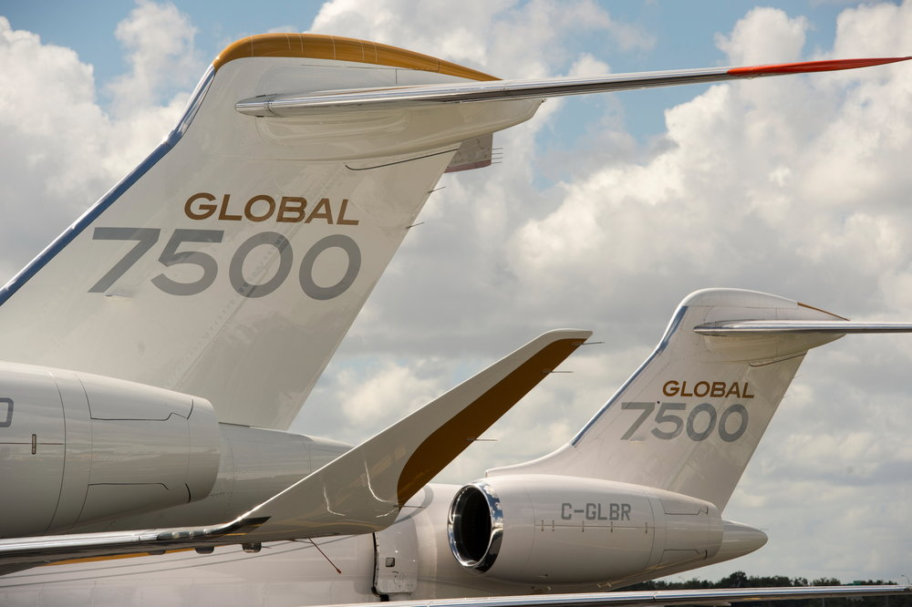 Precision-engineered cutting-edge wing - With outstanding wing loading, this enables the Global 7500 aircraft to deliver the industry's smoothest flight for a ride quality that is simply unmatched in business aviation.