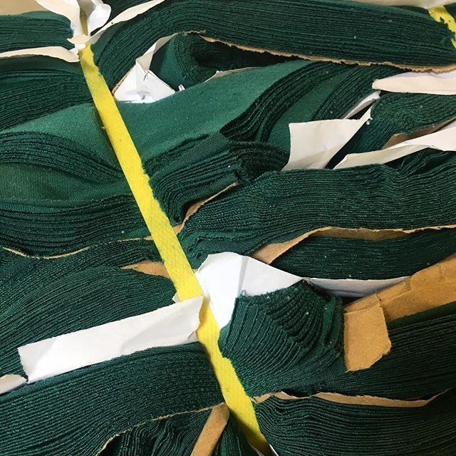 Can anyone guess what these cuts are going to be used for? 🧐 • • • #threads #embroidery #sfmanufacturers #dadmanufacturing #bayareafashion #madeinthebay #supportlocalbusiness #sf #garmentcontractor #manufacturer #dadsewinghouse #patternmaking #screenprinting #textiles #bayarea #bayareabusiness #fashion #madeinSF #colormatch #fabric #design #interiordesign #business #garmentindustry #fashionindustry #textileindustry #localbusiness #fashiondesigners #textiledesign #home_manufacturer