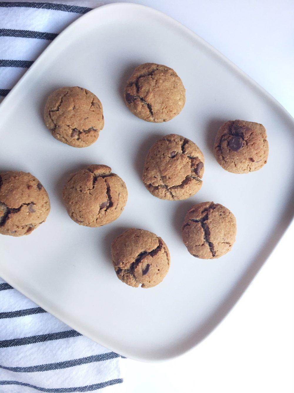 Banana Flour Gluten Free Vegan Cookies