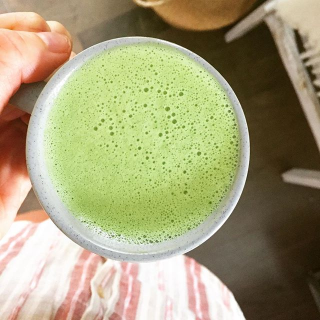 collagen matcha latte, Holistic nutritionist The Soulful Sprout