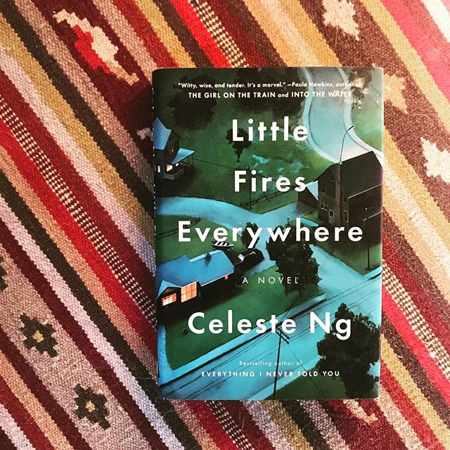 We need to talk about the Little Fires Everywhere mini series...is anyone else as excited as I am!? I am so into the trend of making amazing books into mini series. The Handmaid's Tale and Big Little Lies were two of the best shows last year and I can't wait to see what happens with this Celeste Ng masterpiece. Anyone want to dream cast it with me!? Who would you love to see in it? . . #thebookshipproject  #littlefireseverywhere