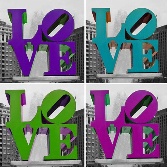 5Four-Square-Love-Colors!