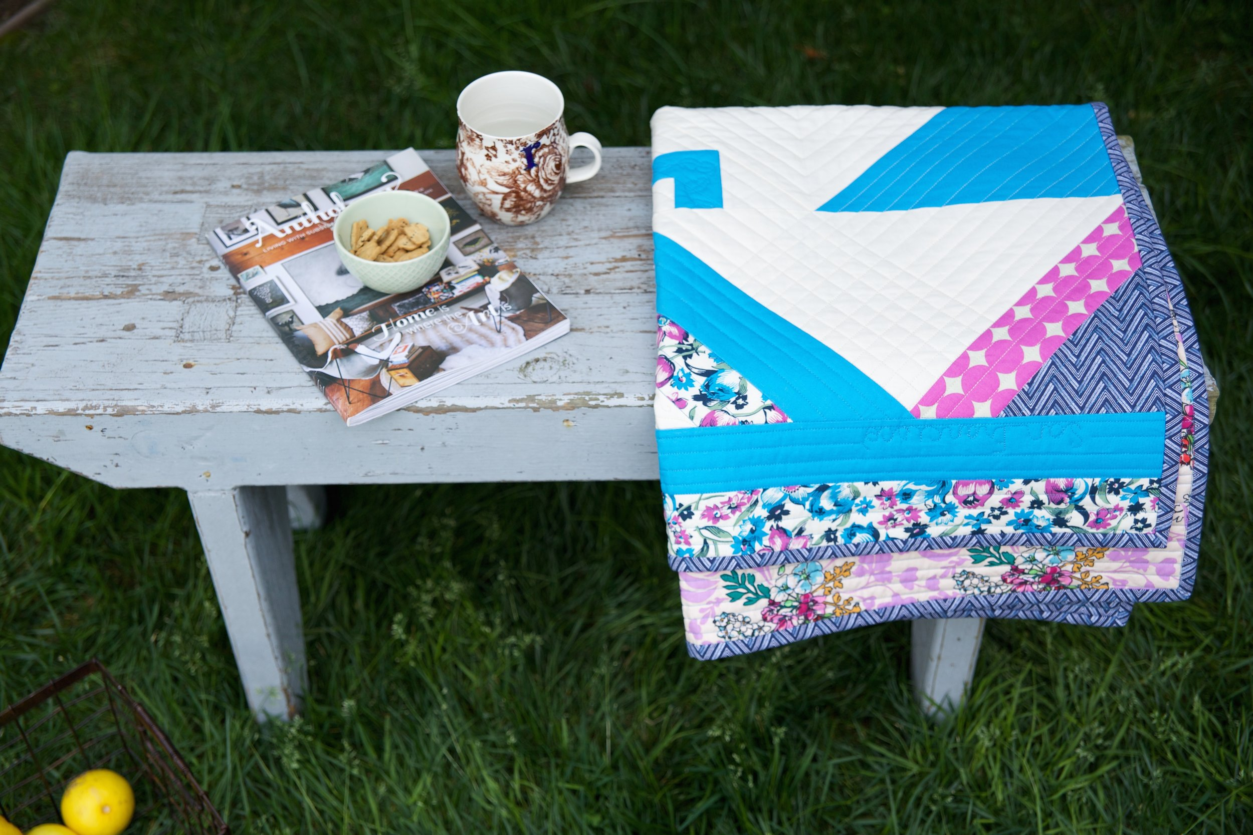 Quilts on Table