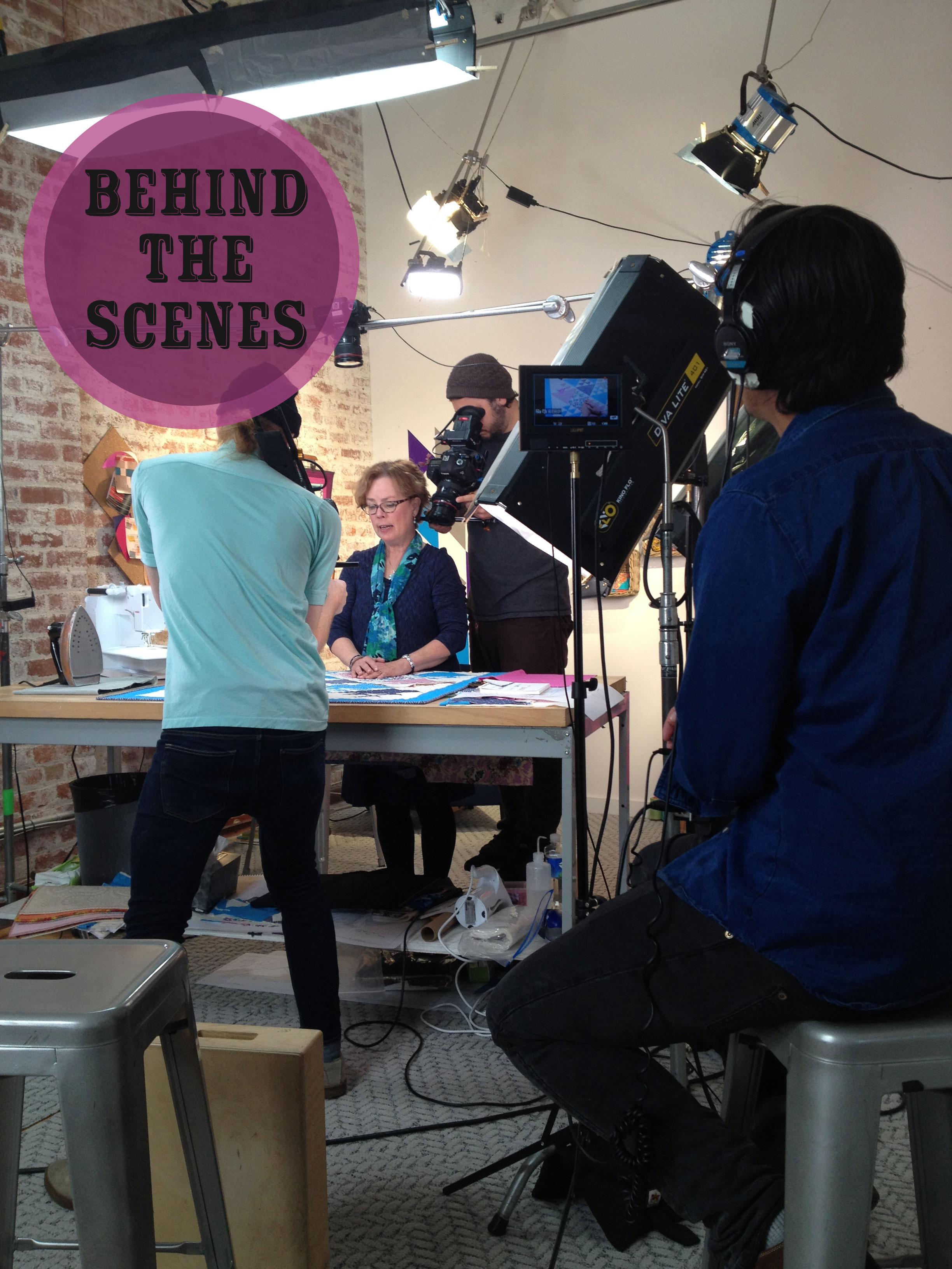 Sue-Filming