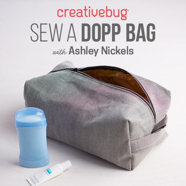 Dopp Bag Creativebug
