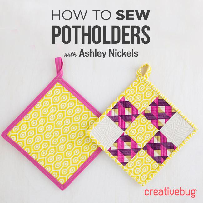 Potholders Creativebug