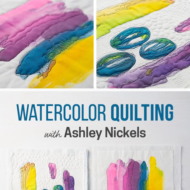 Watercolor Quilting Creativebug