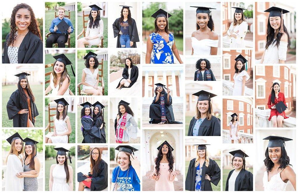 The wonderful UVA grads + Mary Baldwin grad that helped me raise over $350 towards Kurandza's #istandforgirls campaign!
